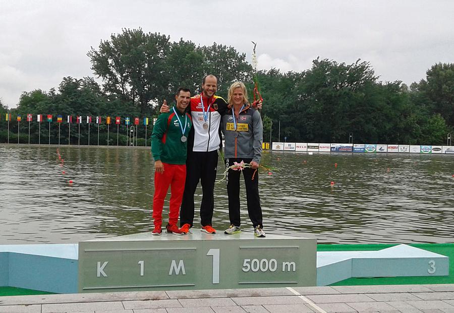 Evind tok bronse i EM. Foto: Eirik Verås Larsen / NPF