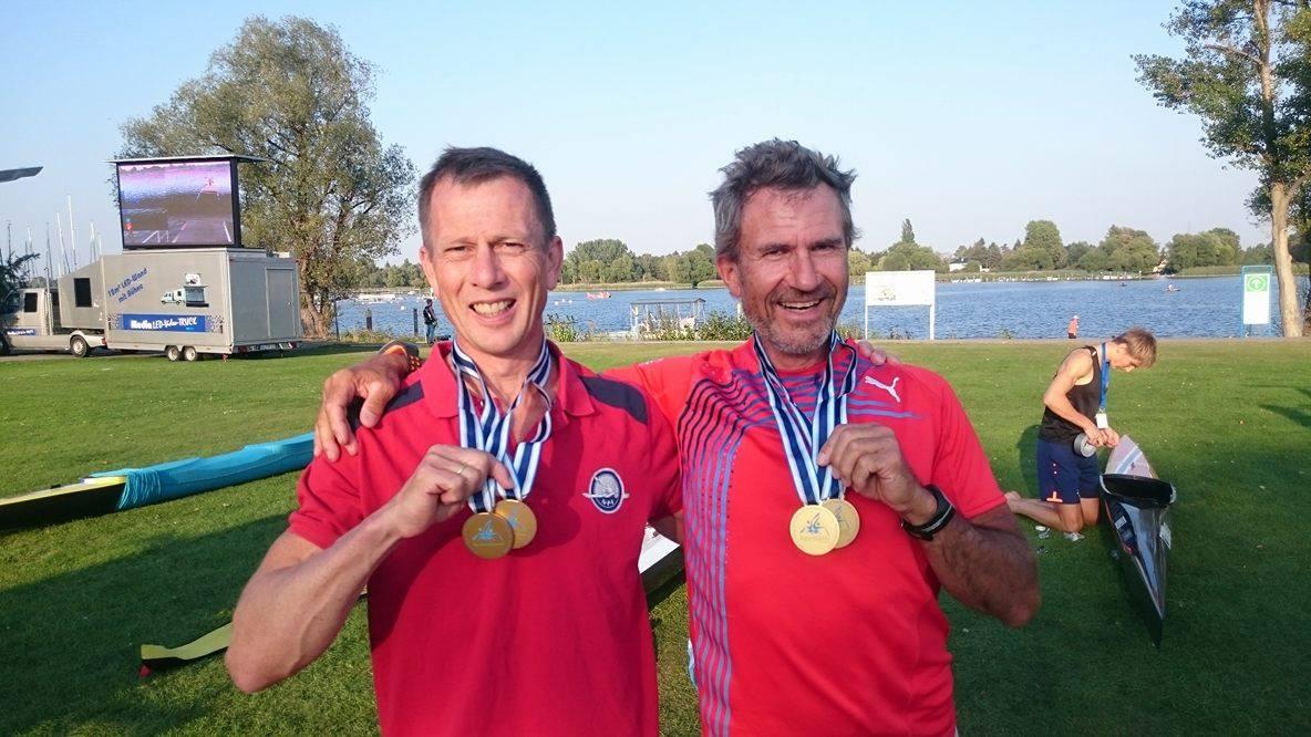 Johan W. Brekke og Einar Kjerschow